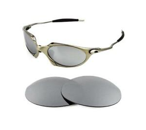 4877b9285e NEW POLARIZED REPLACEMENT SILVER ICE LENS FOR OAKLEY ROMEO 1.0 ...