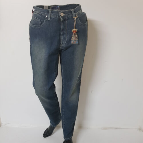 Donna Blu Trussardi Art Femme Pantalons 65 col Jeans Skinny 565117 Sconto 85xq5O