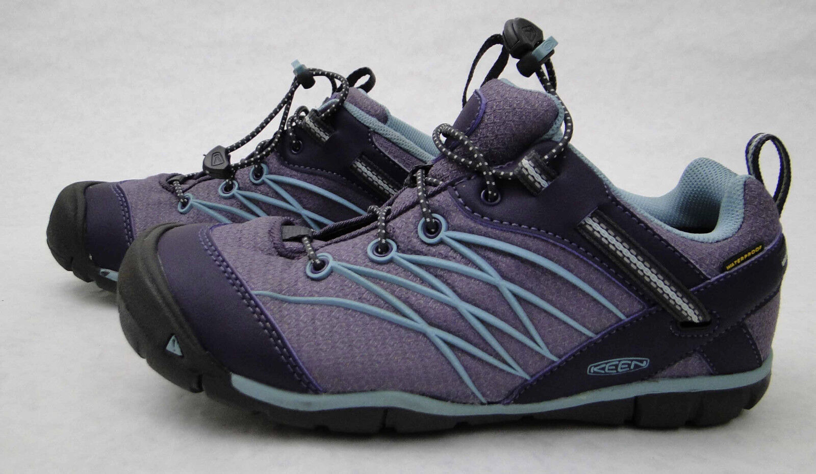 Women's Keen Purple and Teal Blue Outdoor Hiking Sneaker Shoes Size 5