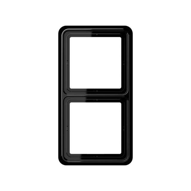 Jung CD582SW Abdeckrahmen 2-fach Serie CD schwarz