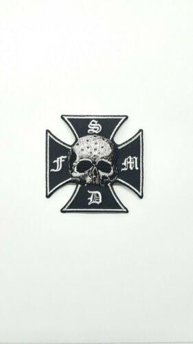 Black Label Society Strength Determination Merciless Forever Skull Patch P-1363
