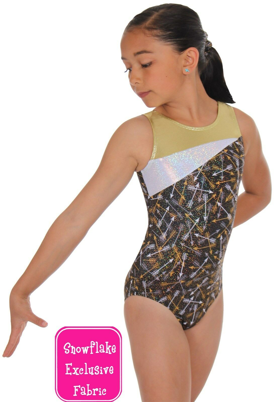 NEW  Tribute Gymnastics Leotard by Snowflake Designs