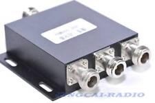 3 way N-Female UHF 400-500MHZ Two Way Ham Radio Antenna power splitter diveder