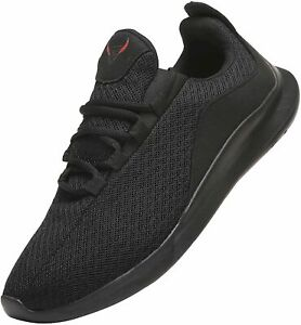 PAGBOJAS Men's Shoes Fabric Low Top Lace Up Running Sneaker, Black, Size  EpTX