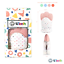 thumbnail 2 - 4Teeth Baby Teething Mitten Premium Soft Silicone Toy in Gift Box BLUE,PINK