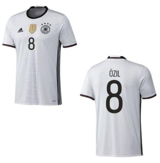 Trikot Adidas DFB 2016-2018 Home - Özil 8  EM Deutschland