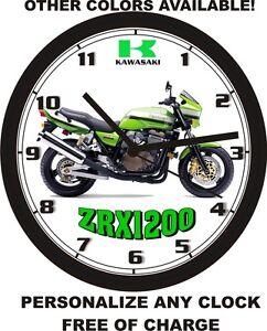 Motocross Horloge murale USA moto YAMAHA SUZUKI Vinyle KAWASAKI RECORD Racing Decor