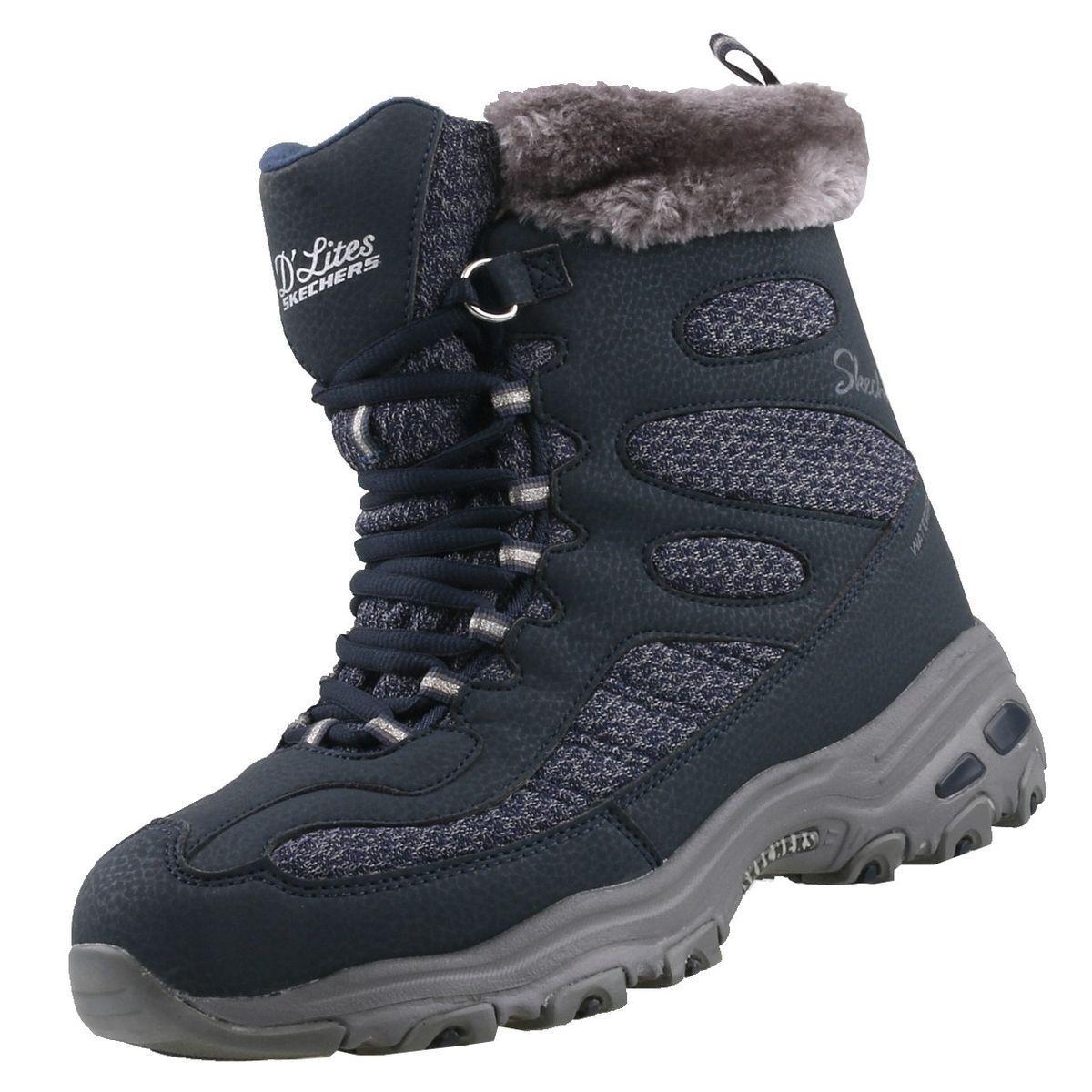 Nuevo Skechers Zapatos Mujer D' Lites Bomb Cyclone Cyclone Bomb botas Zapatos de Invierno 59466c