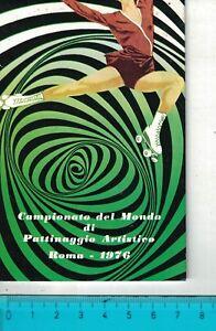 1976 - ADESIVO ANNI '70/'80 - PATTINAGGIO ARTISTICO ROMA 1976 - VEDI FOTO - Italia - 1976 - ADESIVO ANNI '70/'80 - PATTINAGGIO ARTISTICO ROMA 1976 - VEDI FOTO - Italia