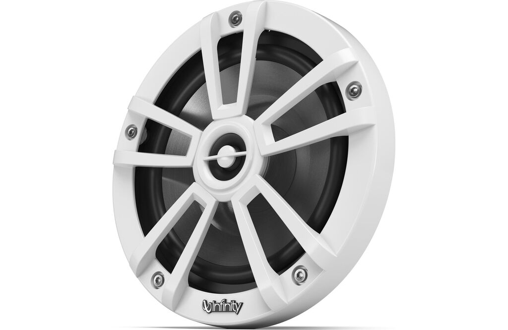 """Infinity 622MLW 6.5"""" 2-Way Marine Speakers with Built-in RGB LED Lights  