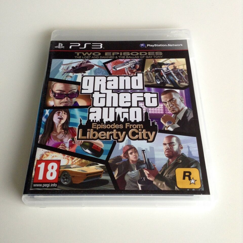 Grand Theft Auto: Episodes From Liberty City, PS3,