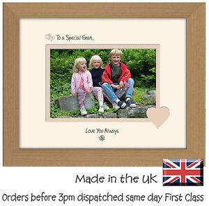 Modeste Special Gran Cadre Photo Cadeau Sentiments 6x4 Lsht Photos Dans Un Mot-afficher Le Titre D'origine De Bons Compagnons Pour Les Enfants Comme Pour Les Adultes