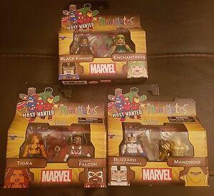Marvel Minimates Série 69 Ensemble De 6 (variante Blizzard) - Neuf En Stock