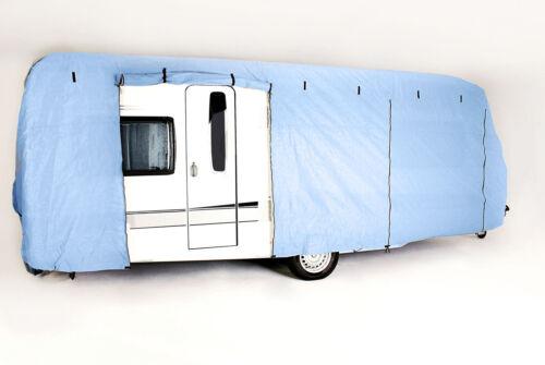 CAPA Wohnwagen Abdeckung Schutzhülle Garage Abdeckplane Caravan 8m CTC05 NEU