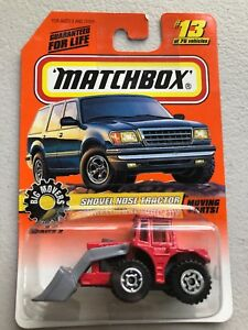 Details about MATCHBOX BIG MOVERS SERIES 2 RED SHOVEL NOSE TRACTOR MOVING  PARTS #13/75