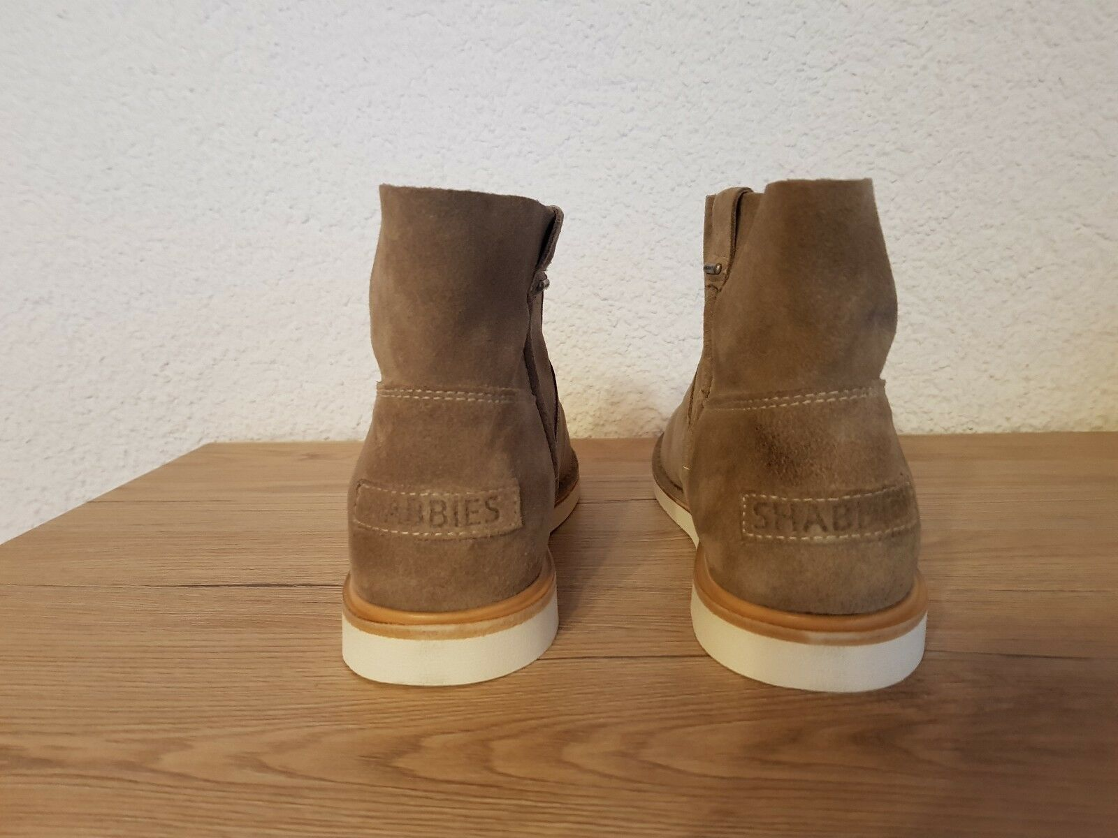 Shabbies Amsterdam Ankle Stiefel Low Low Low Suede   1b99d1