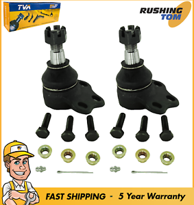 Set Of 2 New Upper Ball Joints Pair Fits Left Driver And Right Passenger Side
