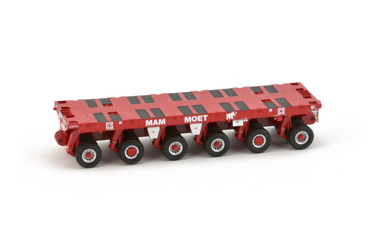 IMC 32-0044 Scheuerle SPMT - 6 Axle - Mammoet - Die-cast 1 50 MIB
