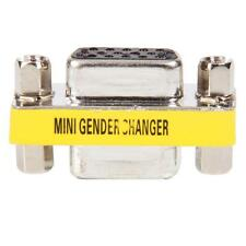 15 Pin SVGA VGA Female to Female gender changer adapter