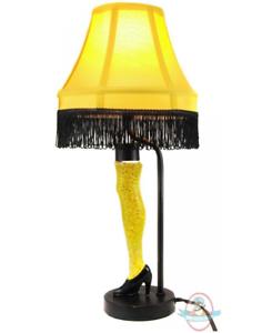 A Christmas Story 18  Inch Action Glitter Leg Lamp Desk Prop Replica