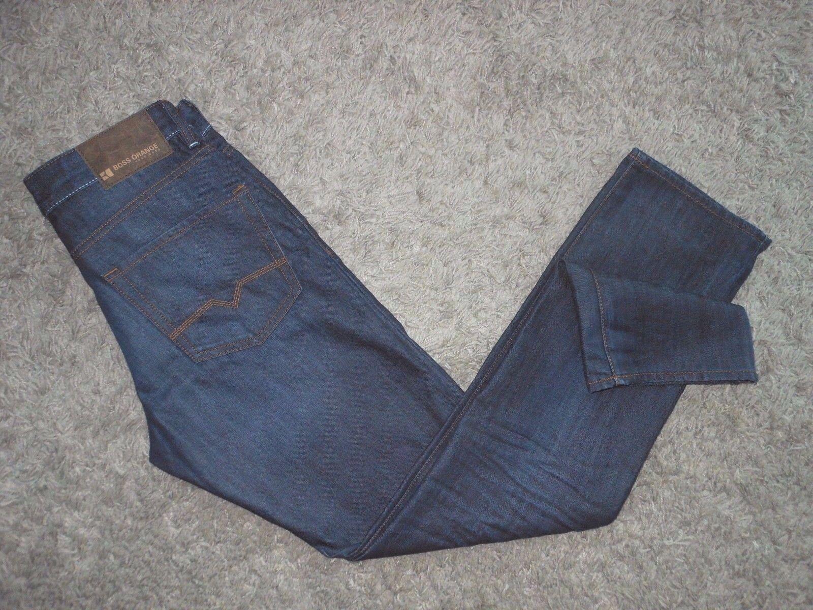 NEW Mens Hugo BOSS orange25 Moonlight Regular Fit Jeans - Size 31x34