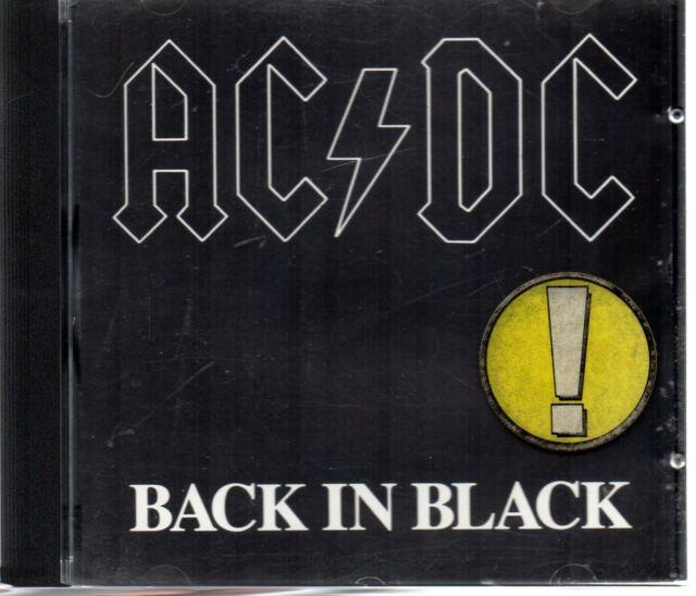 AC/Dc - Back in Black, CD Deutschland