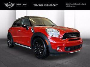 2016 MINI Cooper Countryman S, 4 Roues Motrices! Toit Ouvrant! 50,000 KMS!