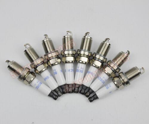 8x Iridium 12122158252 Spark Plug for BMW 528i 535i 550i 650i 750i 750Li X5 4.8L