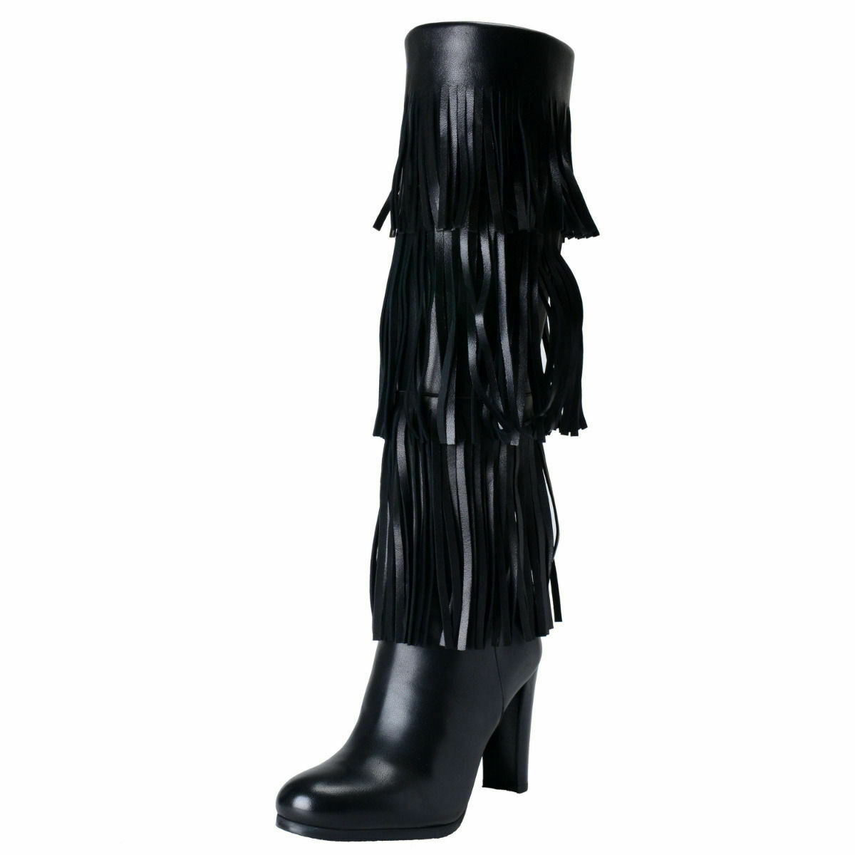 Stuart Weitzman Women's Black Leather High Heel Boots shoes Sz 5 6 6.5 9 10