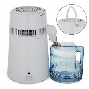 750W 4L Electric Pure Water Distiller Purifier Stainless Steel Internal
