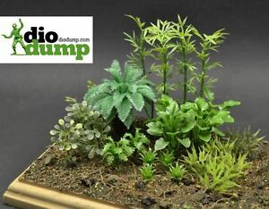DioDump-DD094-Jungle-plants-1-35-scale-pacific-vietnam-detailled-diorama-scenery