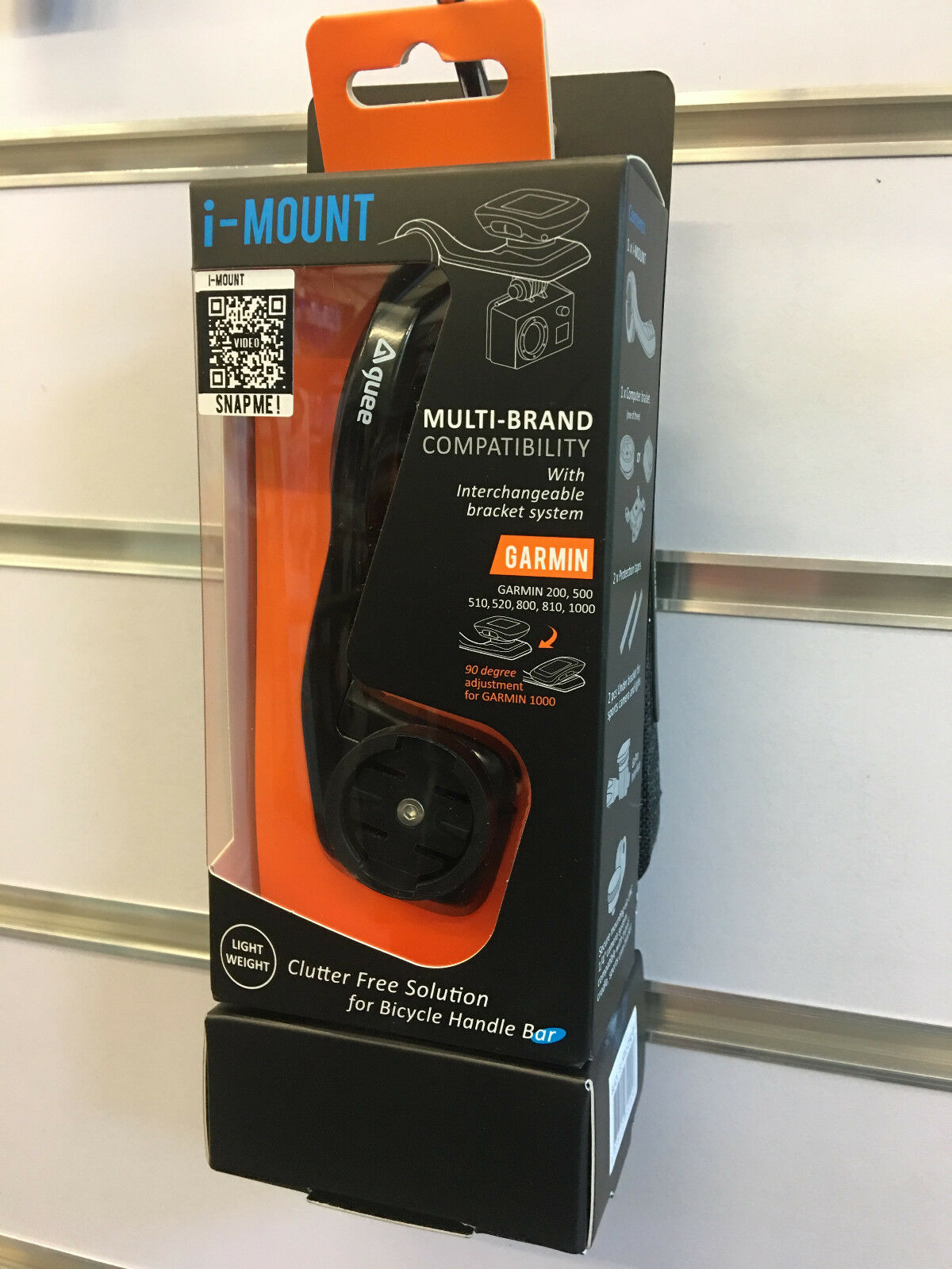 GUEE Integrated Bike Mount With WP Phone Case Set Dimensione S
