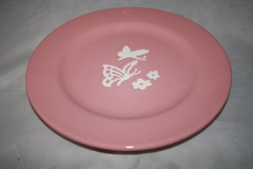Schmetterlinge rosa Speiseteller Wächtersbach alte Serie 27,5cm Teller 1.Wahl