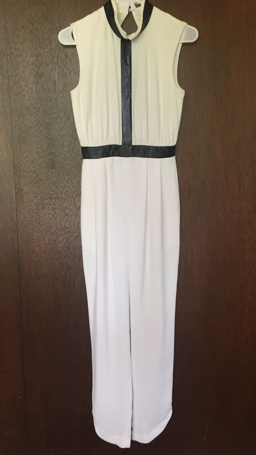 Camilla And And And Mark White Silk Jumpsuit Size 2 1f55ab