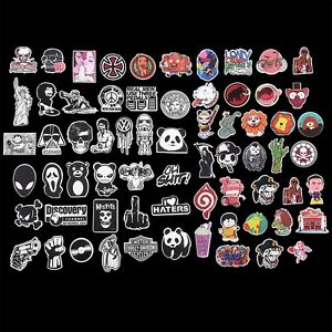 100Pcs-Random-Sticker-Bomb-Decal-Vinyl-For-Car-Skate-Skateboard-Laptop-Luggage-F