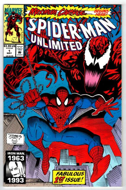 SPIDER-MAN UNLIMITED # 1  Marvel Comics 1993  (fn) Maximum Carnage (e)