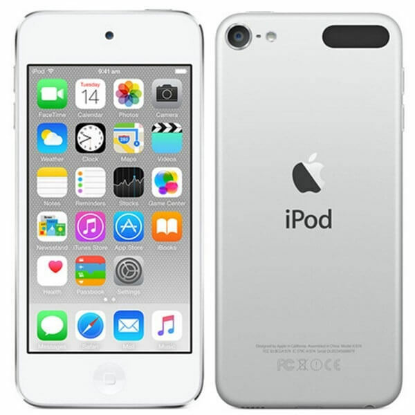 "New Imported Apple iPod Touch 16GB 4"" 8MP VGA 6th Generation Silver Color"