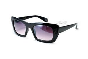 0a82403bda7a Image is loading Cat-Eye-Vintage-Sunglasses-Thick-Frame-Designer-Inspired-