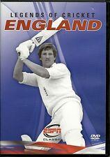 LEGENDS OF CRICKET ENGLAND DVD - IAN BOTHAM, DAVID GOWER & MORE