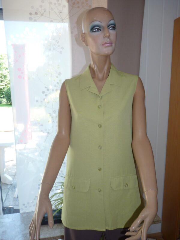 **bluse, Oberteil, Shirt Vintage -canda- Gr. 38 Mit 25 % Leinen** Vertrieb Von QualitäTssicherung