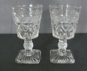 Charming Image Is Loading Imperial Crystal Clear Glass Cape Cod Wine Glass