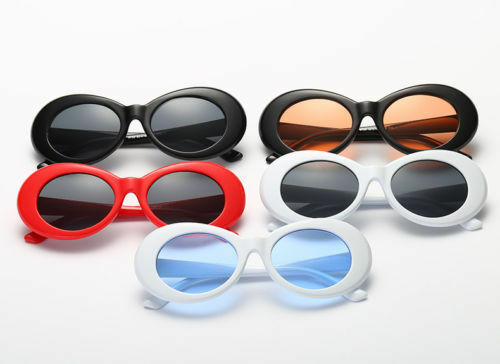 beadd4623903 Retro Clout Goggles Unisex Sunglasses Rapper Oval Shades Grunge Frames  Glasses