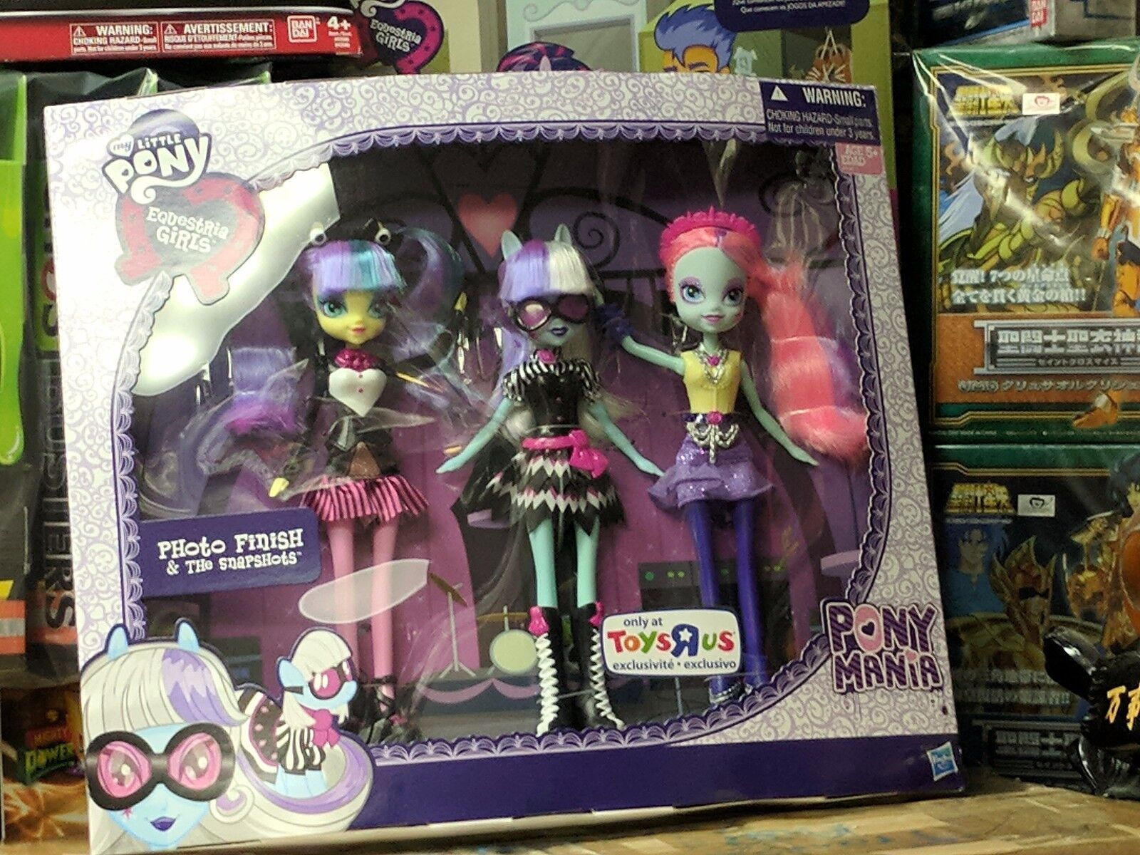 MY LITTLE PONY PHOTO FINISH & THE THE THE SNAPSHOTS EQUESTRIA GIRLS DOLLS Brand New 2b6a4b