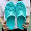 thumbnail 4 - Mens Womens Slip On Slippers Hollow Beach Sandals Clogs Garden Flat Shoes Casual