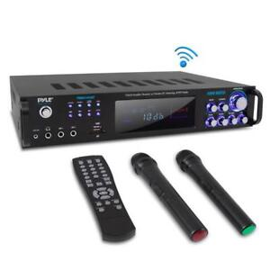 PWMA1003BT-Bluetooth-Amplifier-Receiver-amp-Microphone-System-Hybrid-Pre-Amplifier