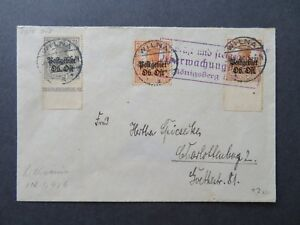 Lithuania 1916 Censor Cover to Charlottenburg - Z7778