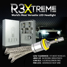 H11 R3 Xtreme LED Conversion Headlgiht Bulb Kit with CREE Chips Bright CANBUS
