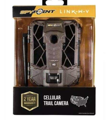 SPYPOINT Link-W-V Cellular Camera Brand New LTE‼️✅