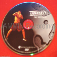Insanity - Max Recovery - Dvd / Shaun T - Official Release