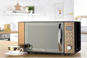 Digital Microwave Breville 20 Litre Bronze Led Display Kitchen 800w